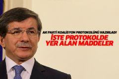 Ak Parti İle CHP Arasında Yapılacak Protokol Belli Oldu