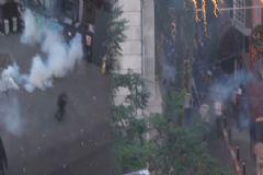 Taksim'de Olaylı Suruç Eylemi