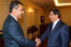 Başbakan Davutoğlu Hakan Fidan'ı Kabul Etti