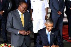Obama'dan Kenya Ziyareti