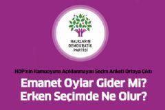 HDP'nin Kamuoyuna Açıklanmayan Seçim Anketi