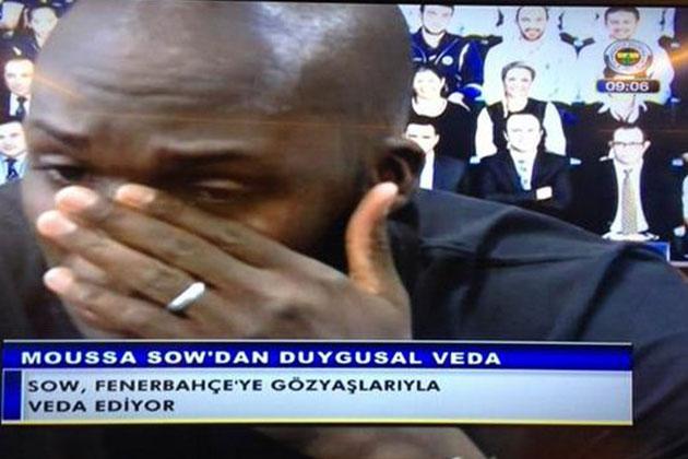 Sow Fenerbahçe'ye Veda Ederken Ağladı