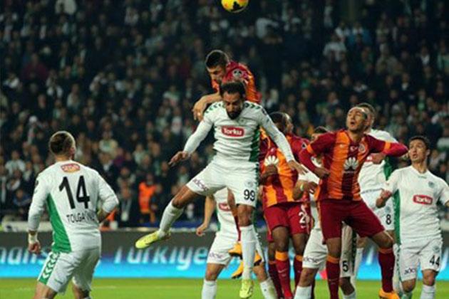 Torku Konyaspor: 1 - 4 Galatasaray Maç Sonucu