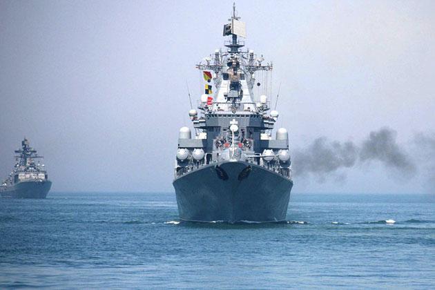 Rus Gemileri Akdenizde Tatbikat Yapacak
