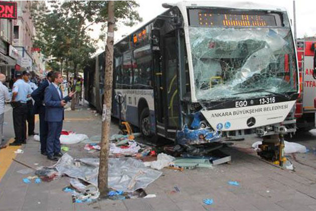 Ankara'daki Otobüs Faciasının Detayları Ortaya Çıktı