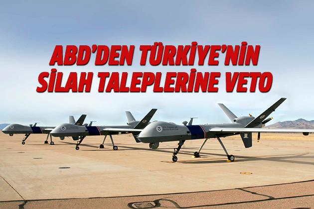 ABD'den Türkiye'nin Silah Taleplerine Veto