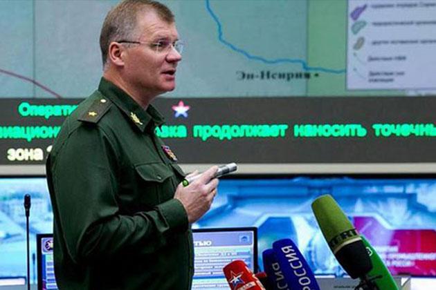 Rus Genelkurmay Başkanlığından Açıklama