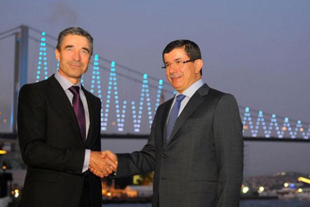Başbakan Davutoğlu NATO Genel Sekreteri ile Görüştü