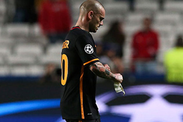Atletico Maçı Sonrası Sneijder Patladı