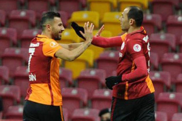 Galatasaray: 2 Akhisar Belediyespor: 1 Ziraat Türkiye Kupası Maçı