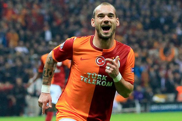 Sneijder Kayserispor Karşılaşmasında Yok!