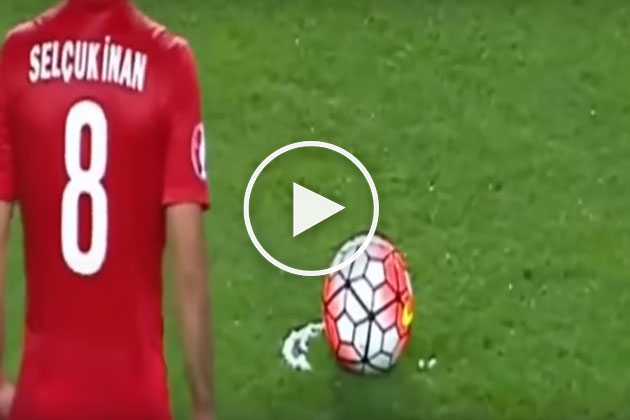 Selçuk İnan'ın Muhteşem Golü UEFA Anketinde Ön Sırada