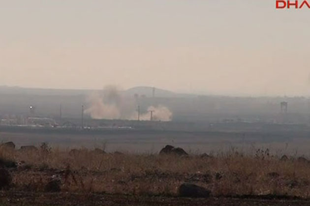 Suriye'deki Çatışmalar Türkiye'den Görülüyor!
