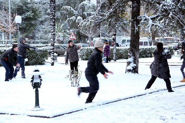 Çorum'da Okullara Kar Tatili!