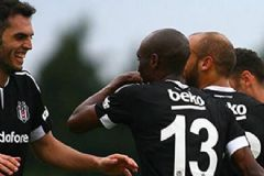 Beşiktaş Hazırlık Maçında Slovenya Ekibini 5-0 Yendi