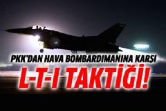 PKK Hava Saldırılarına Karşı Siper Kazıyor