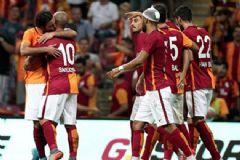 Galatasaray İnter'i Sneijder'in Golüyle Devirdi