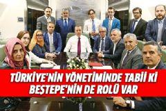 Erdoğan: Türkiye'nin Yönetiminde Tabii Ki Beştepe'nin De Rolü Var