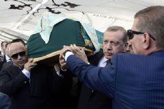 Cumhurbaşkanı Erdoğan,Tulu Gümüştekin'in Cenaze Törenine Katıldı