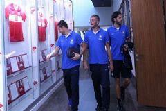 Inter'li Futbolcular TFF Müzesi'ni Gezdi