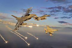 F-16 Uçakları PKK'yı Bombaladı