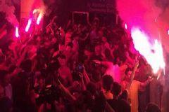 Galatasaray'a Ankara'da Coşkulu Karşılama!