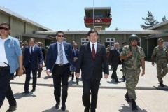 Başbakan Davutoğlu ve Genelkurmay Başkanı Sınırda