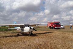 Tekirdağ'da Eğitim Uçağı Tarlaya Zorunlu İniş Yaptı