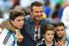 David Beckham'dan Babalık Dersi