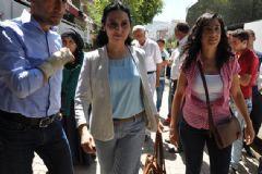 Figen Yüksekdağ Terörist Ailelerini Ziyaret Etti