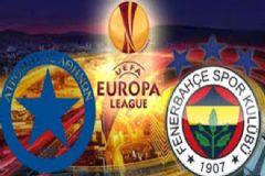 Fenerbahçe 1- 0 Atromitos Maç Sonu, Maç Özeti