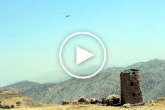 Milli Helikopter Atak PKK'lıların Kaçış Noktalarını Vurdu