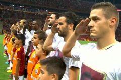 Galatasaray ve Osmanlıspor'dan Şehit Mesajı
