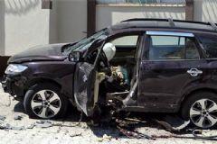 Hatay'da Suriye Plakalı Araç Patladı
