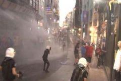 Taksim'de 'Dünya Barış Günü'nü Eylemi