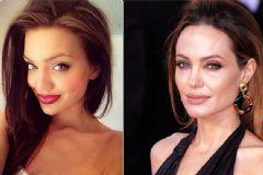 Sosyal Medyada Angelina Jolie'nin İkizi Krizi