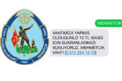 Mehmetçik Vakfı'na Bağış Yağdı