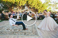 Sihirbaz Damadın İnanılmaz Dans Gösterisi