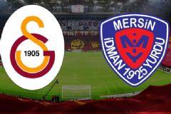 Galatasaray: 1 Mersin İdman Yurdu: 1 Maç Sonucu