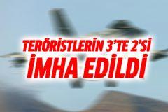 Kandil'deki PKK'lıların 3'te 2'si İmha Edildi