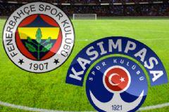 Fenerbahçe:1 Kasımpaşa:0 Maç Sonucu