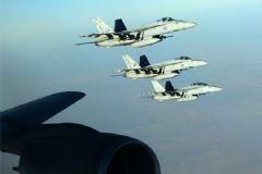 Koalisyon Uçakları DAEŞ Hedeflerini Vurdu