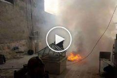 İsrail Askerleri Mescid-i Aksa'yı Yine Bombaladı