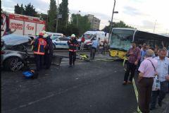 D-100 Karayolu'nda Metrobüs Kazası: Yaralılar Var