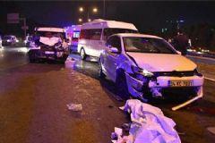 TEM'de Kaza: 1 Ölü 5 Yaralı
