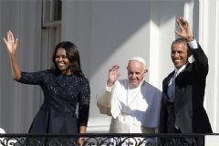 Papa Beyaz Saray' Konuk Oldu