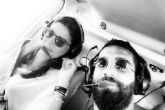 Arda Turan Sevgilisine Havadan Barcelona Turu Attırdı