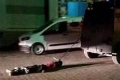 Davutoğlu'ndan 'İple Çekilen Terörist Fotoğrafı' Açıklaması