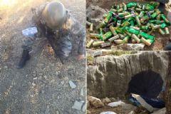 PKK'lılara Ait Sığınaklar İmha Edildi