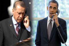 Erdoğan ve Obama Telefonda Görüştü